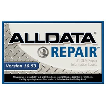 2019 Hot Alldata 10.53 all data auto repair software alldata Software in 640GB HDD usb3.0 for cars and trucks fit windows 7/8