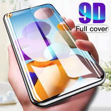 Полное покрытие 9D для Samsung Galaxy A21s A51 A31 A41 A01 A71 A50 A30s A12 A32 A02, чехол, защитное стекло на Samsunn A 21 s A21 s, пленка