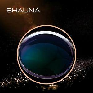 Image 2 - SHAUNA lentes de resina graduadas para CR 39, lentes de decoloración para miopía, hipermetropía, óptica, sensible a la luz, 1,56