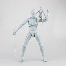 Boneco de massa de desenho, boneco artístico de manequim de desenho de anime de 1/6, boneco kawaii novos brinquedos