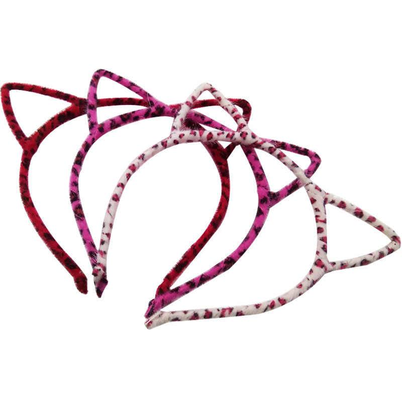 1 PCS Stilvolle Frauen Mädchen Katze Ohren Stirnband Zubehör Sexy Kopf Band Multicolor Styling Werkzeuge Headwear