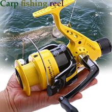Yumoshi  12bb 5.5:1 High Quality Spinning Fishing Reels Salt Water Reel Molinete Feeder Carretilha de pesca
