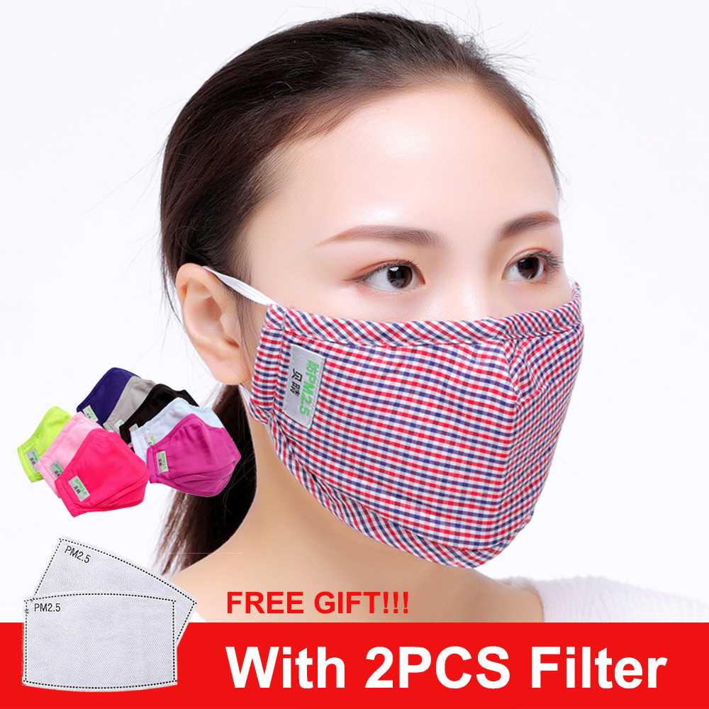 Facemask Face Mask With Filters Masque Mascarillas Fpp2 Reusable Washable Anti Dust Cotton Fpp3 Mask маска