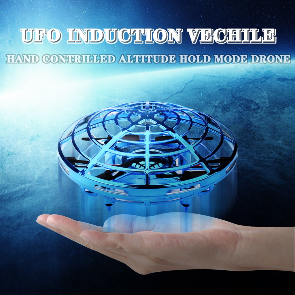 Mini Anticollision Sensor Induction Hand Controlled Altitude Hold Mode UFO Drone The Best Gift For Kids Children Funny Toys #2