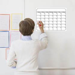 Экологически чистый магнитный календарь магнит на холодильник 40X30 см доска сообщений Amazon Горячая продажа настраиваемые Семейные memorandты