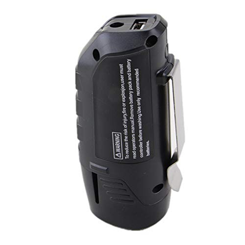 Hot 3C-Replacement 10.8V/12V Battery Backup With Usb Port Charge Adapter Conventer Fit For Li-Ion Battery Bhb120