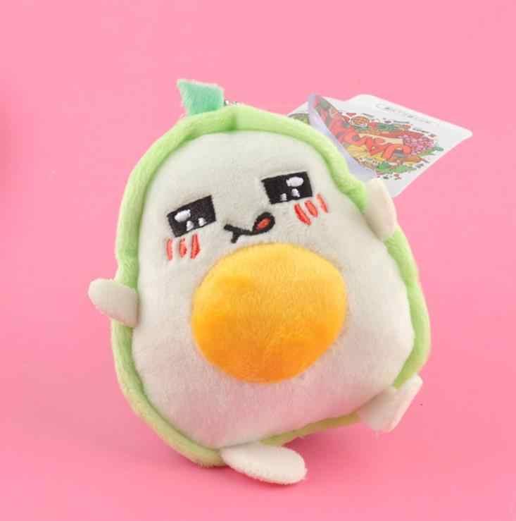 1 adet yeni sevimli Karikatür Meyve avokado peluş oyuncak Dolması Peluş Avokado çanta anahtarlığı Çanta Çanta Kolye Hediye peluş oyuncaklar