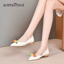 Туфли лодочки женские на низком каблуке с острым носком so520