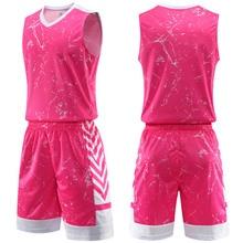 Индивидуальные печати для мужчин и женщин 7XL Баскетбол Джерси тренировочные рубашки спортивный комплект одежды баскетбольные майки колледжа наборы униформа