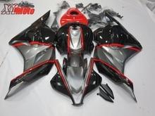 Injection ABS Plastic Fairing Kit For Honda CBR600RR F5 2009-2012 Motorcycle Fairing CBR 600RR 09-12 Gloss Gray Black Bodyworks стоимость