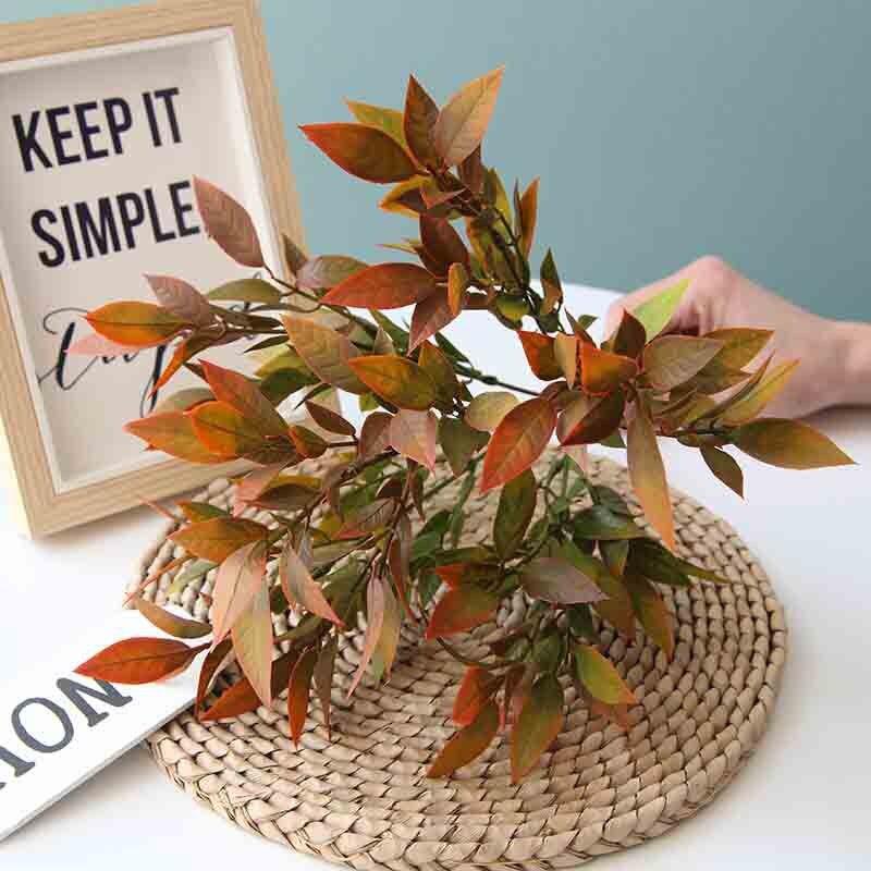 5шт/много поддельные 6 вилок Бегония цветок 4 Цвет свадебный дорога ведет специальный поддельные искусст цветок украшение стола декор сада