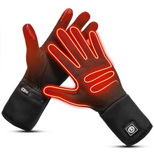 Sports-Gloves Heated Riding Touch-Screen Warm Running And Unisex Liner Day-Wolf Battery-Heating