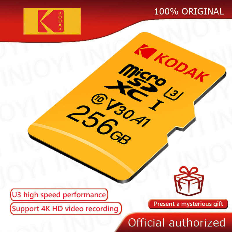 carte micro sd 4k Kodak High Speed micro sd 64gb class 10 U3 4K carte micro sd 128gb