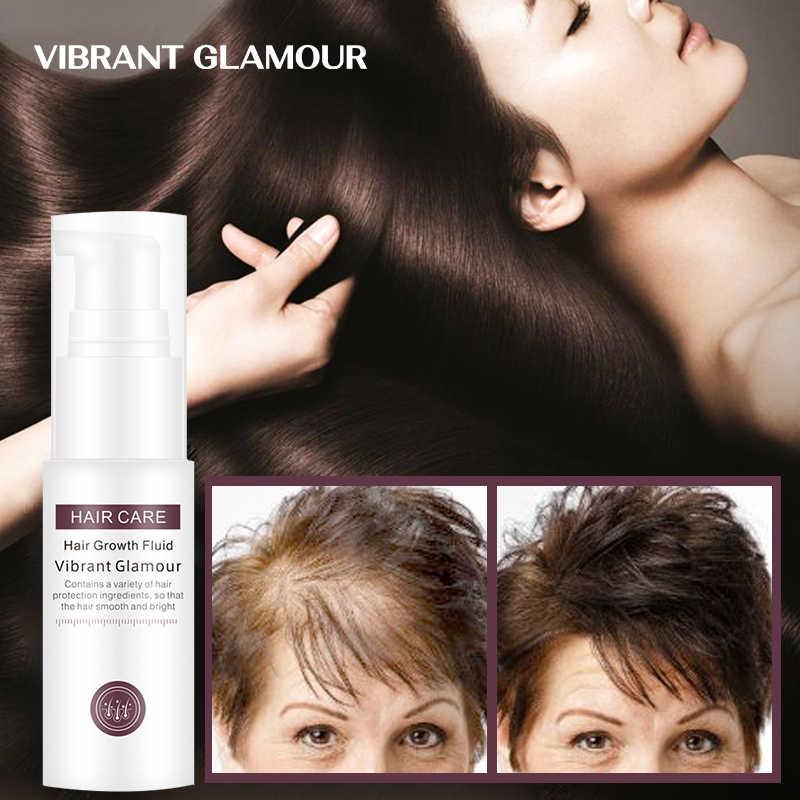 Suero vibrante GLAMOUR para el crecimiento del cabello, aceite esencial para nutrir el cuero cabelludo, raíces para el cabello, previene la pérdida de cabello, grasa limpia para el cuero cabelludo, cuidado del cabello