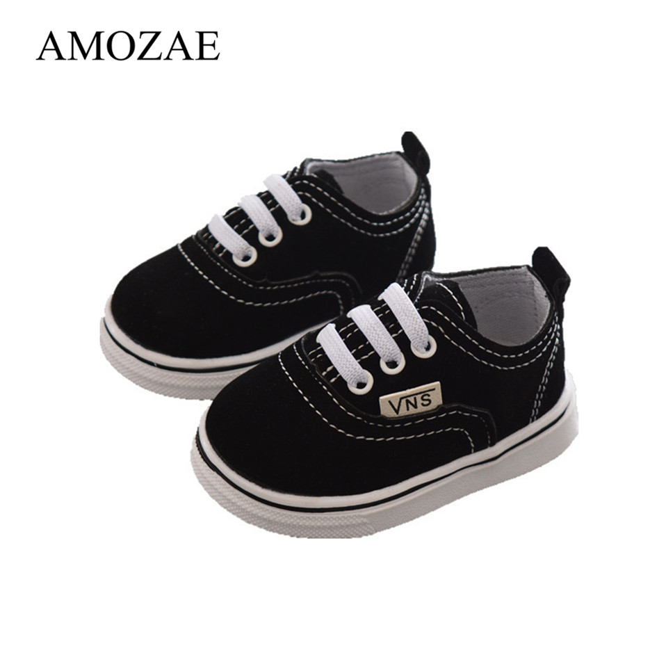Newborn Baby Shoes Infant Toddler Baby Boy Girl Spring Autumn Soft Bottom Spring Canvas Shoes Walkers Newborn For 0-24M