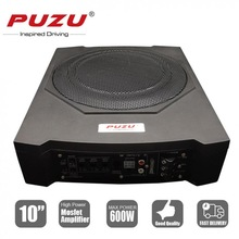 Speaker Bass-Amplifier Active Subwoofer Under-Seat 10inch Universal Slim 600W Car Fuselage