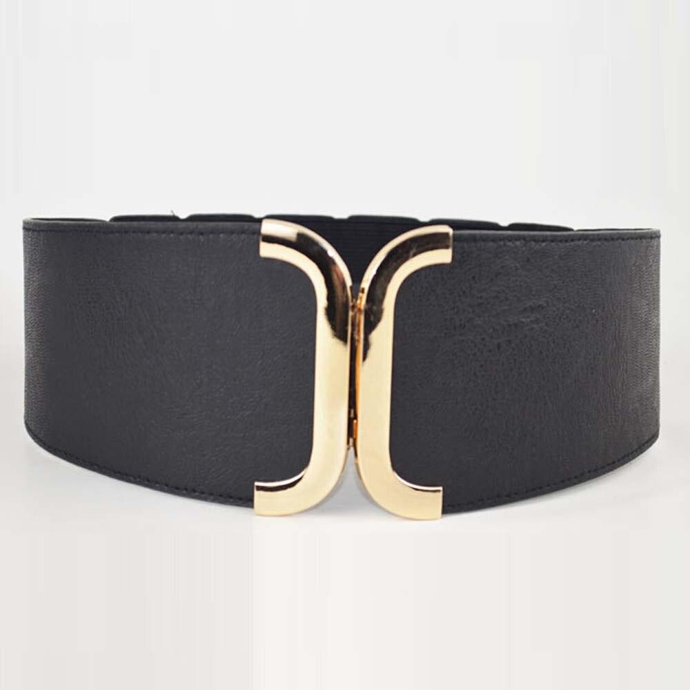 Female Brief Wide Belt Fashion Decoration Elastic Cummerbund Strap Party Dress Accessories
