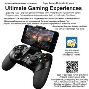 Image 4 - Ipega 9076 PG 9076 Bluetooth Gamepad oyun pedi denetleyicisi mobil tetik Joystick için Android cep akıllı telefon TV kutusu PC PS3 VR