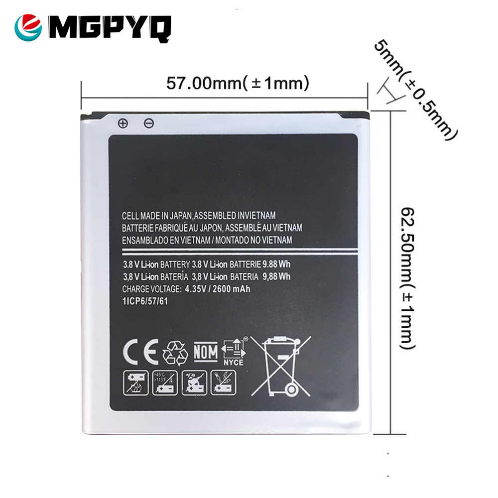 Nouvelle Batterie EB-BG530CBE EB-BG531BBE pour Samsung Galaxy Grand Prime J3 2016 J320F j2 premier G5308W G530 G531F SM-G532F J5 2015