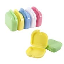 Box Prosthesis Sanitary Teeth Storage-Box Mouthguard-Container 1pc Denture Artificial