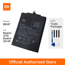 Xiaomi Original Red MI 3/3S/3X/4X Phone battery Mo