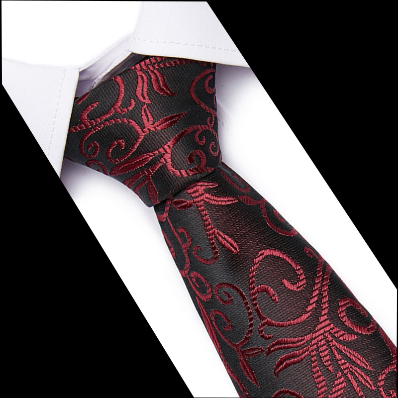 New Fashion Slim 7.5CM Mens Tie Formal Ties For Men Classic Polyester Woven Plaid Dots Party Necktie For Wedding Business
