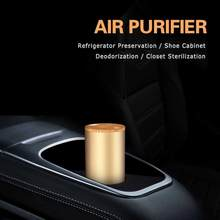 Car Air Purifier 12V Negative Ions Air Cleaner Ionizer Air Freshener Auto Mist Maker Pm2.5 Formaldehyde Deodorize Filter(China)