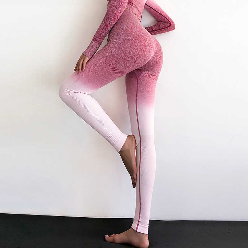 Легинсы женские для фитнеса, бесшовные легинсы с высокой талией для тренировок, спортивная одежда, леггинсы с контролем живота, женская одежда