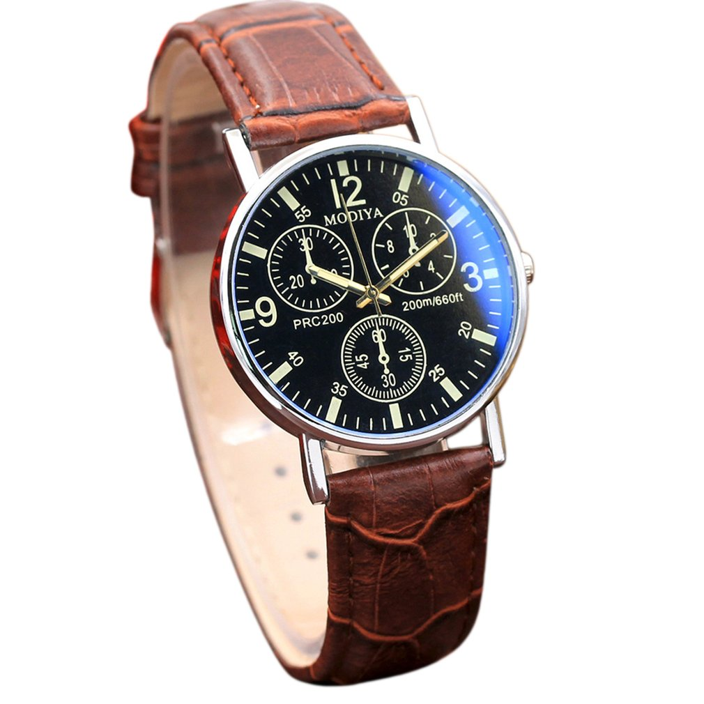 Minimalist Men Watches New Fashion Luxury Watches Quartz Men's Watches Blue Glass Belt Watch Clock For Women Dropshipping