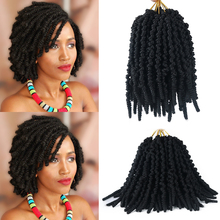 Pre-twisted Spring Twist Hair 8 inch Passion Twists Crochet Braids