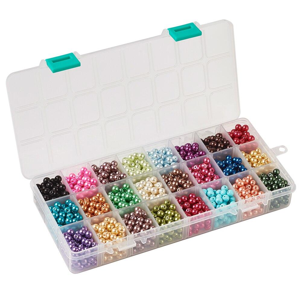 Cuentas de vidrio gummiertblau turquesa 8mm 100 unidades bala joyas bricolaje perlas g56