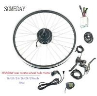 Oferta https://ae01.alicdn.com/kf/Hf98d3eca19a5437cb2c55faa1b5be2d9k/Algún día 36V500W kit de conversión de bicicleta eléctrica con pantalla lcd5 e bike motor giratorio.jpg