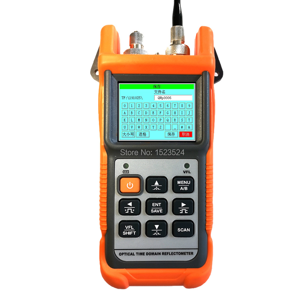 Optical Fiber Ranger MINI OTDR CY190Pro Optical Time Reflectometer With OPM And VFL
