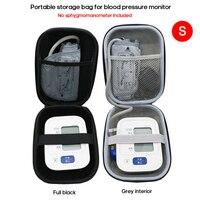 Bolsa portátil de EVA para medir la presión arterial, tonómetro, bolsas de almacenamiento, Estuche de transporte para viaje y uso doméstico