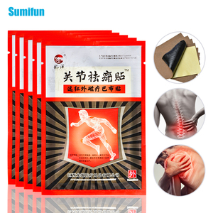 16pcs=2bags Pain Relief Patch Herbal Medical Plaster Cervical Shoulder Back Joint Ache Pain Relief Sticker Arthritis Patch D2911