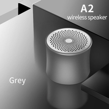 TWS A2 Speaker Bluetooth 4.2 Support TF Card Metal Speaker HD Noise Reduction Mini Wireless Speaker Bluetooth Speakers Portable аудио колонка bluetooth sruppor tf bluetooth speaker