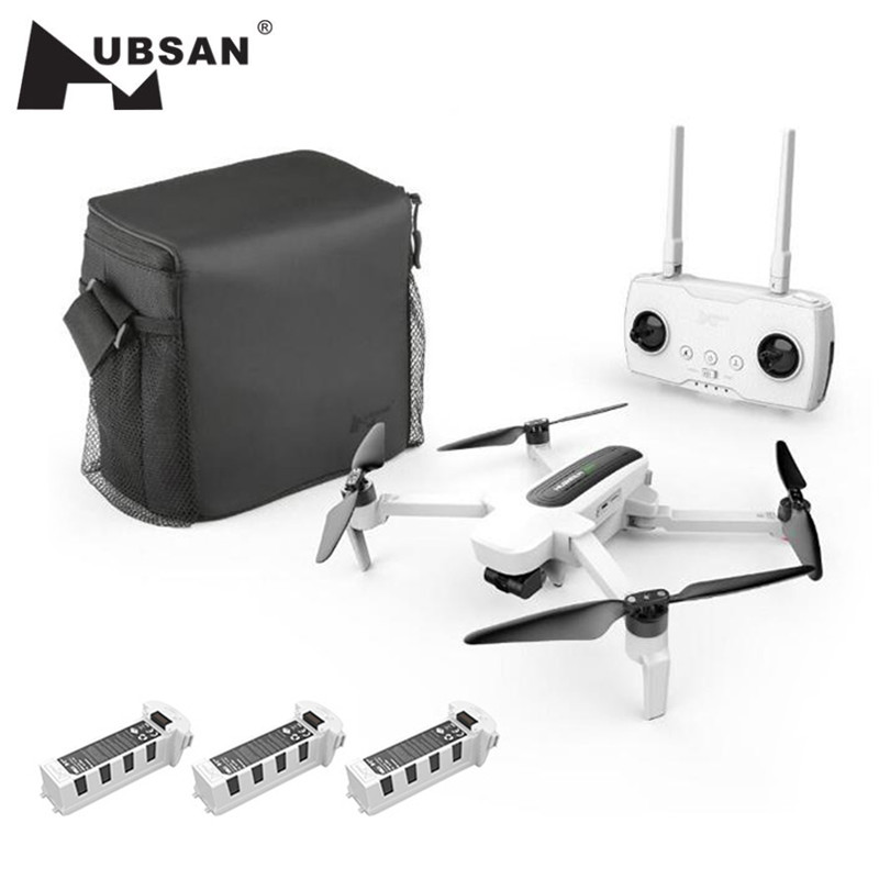 Hubsan RC Drone Helicopter Toy Camera 3-Axis-Gimbal Zino 4K RTF FPV 1KM with UHD UAV