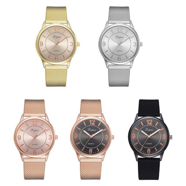 Lvpai Young Fashion Men Woman Boy Girl Watch Leather Band Quartz Wrist Watch Birthday Gift Planet Mars Print Dial Round 2018