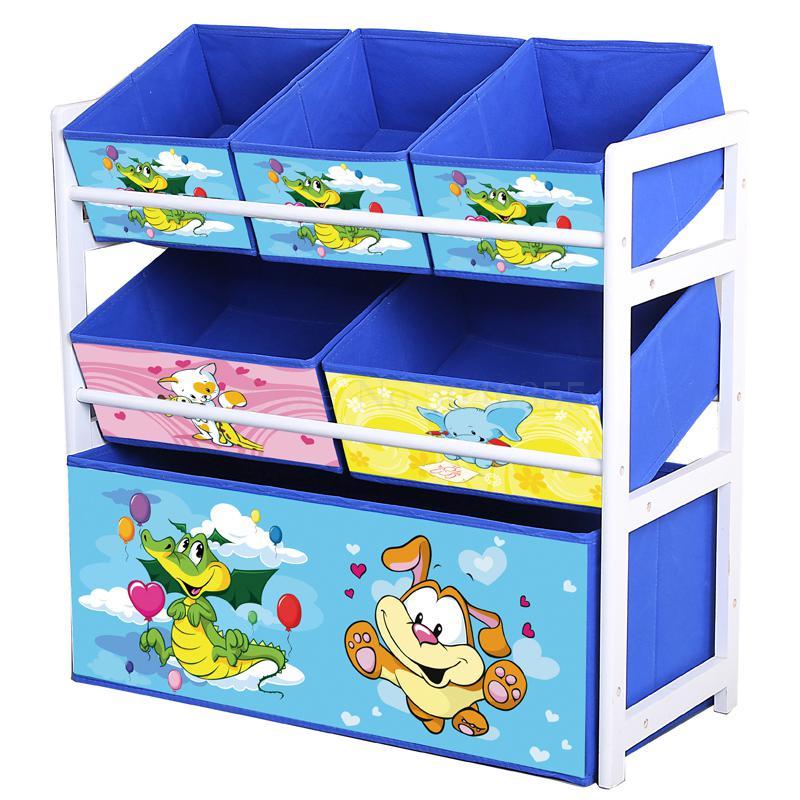 Étagère à jouets en bois massif étagère de rangement boîte à jouets finition enfant jouet armoire maison jouet rangement artefact