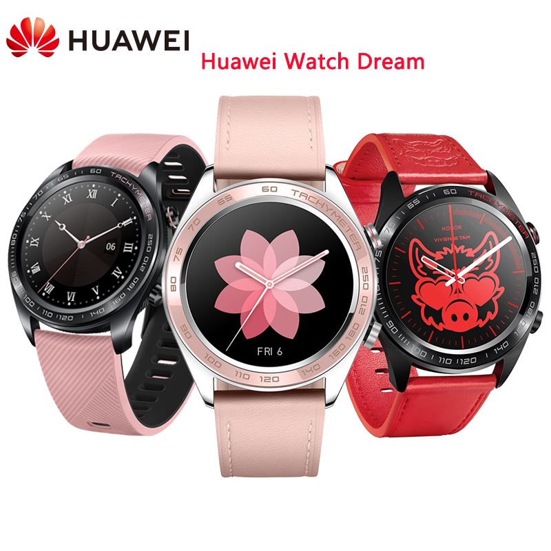 Huawei Honor Watch Dream Series Smart Watch Long Battery Life Fitness Tracker Real-time Heart Rate Waterproof GPS Wristwatch