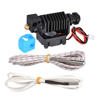 3D Printer Parts 3D V6 Hotend 1.75MM All Metal J-head Remote Extruder Kit with 12V 24V Heater 1M 2M HT-NTC100K Thermister 0.4MM 3d printer parts cyclops 2 in 1 out 2 colors hotend 0 4 1 75mm 12v 24v fan bowden with titan bulldog extruder multi color nozzle