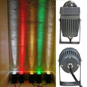 Image 5 - Professionelle Optische Design Outdoor Led Flutlicht 10W Led Spot Licht mit Schmalen lampe Winkel Flutlicht mit 100 240V Beleuchtung