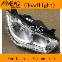 Made for Citroen ailice 2014-2016 headlights assembly new front lamp headlight.