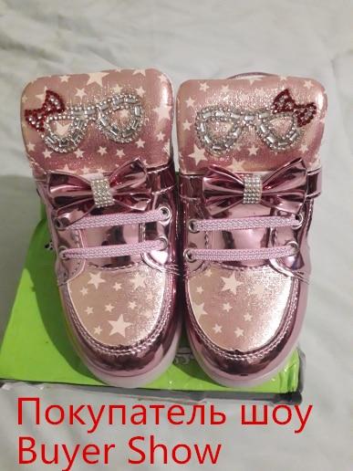 Glow in the Dark Girl Sneakers 6