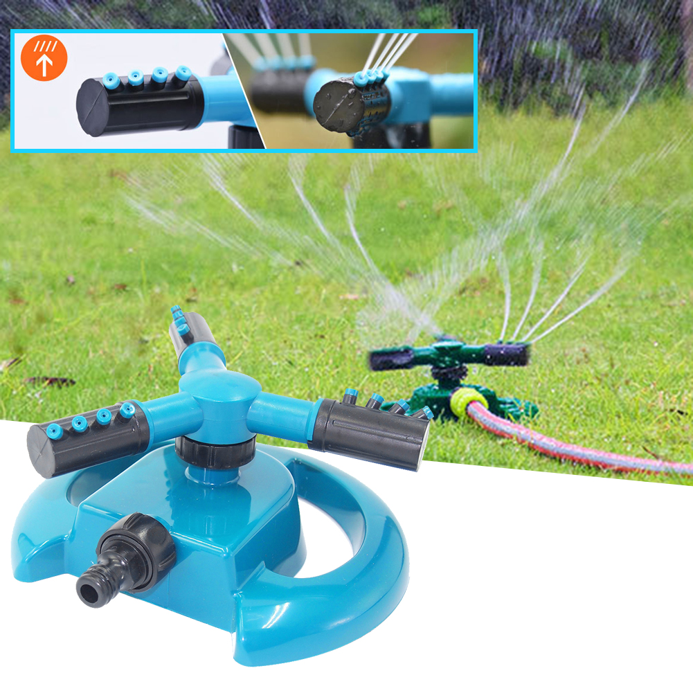 Rotating Automatic Sprinkler 360 Degree Planting Watering Garden Spray Irrigation for Household Garden Accessories
