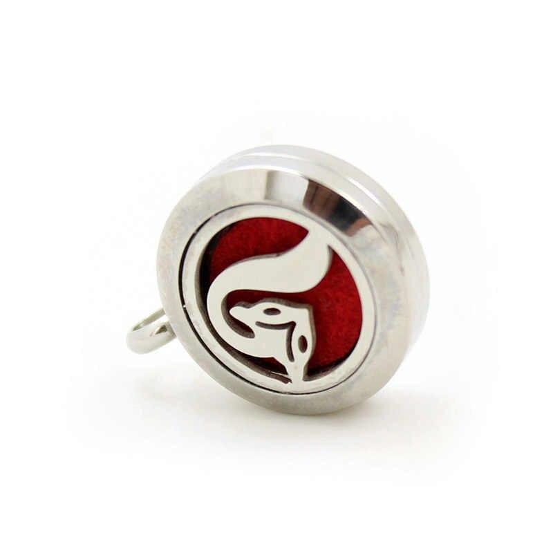 Collier pendentif d'huile essentielle de Style de mélange d'acier inoxydable de 20mm en gros, acceptent le CA157-208 de personnalisation