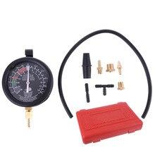 Автомобильный топливный насос вакуумный тестер Датчик утечки карбюратор Диагностика давления комплект с Чехол C45