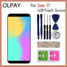 """Conserto de montagem de digitalizador de vidro de tela de toque de LCD de telefone celular de 5,99 """"para Gome U7 LCD"""