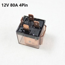 цена на Car Relay 80a 12 Volt coil DC 4Pins 5Pins 24V Heavy-duty impact moulded Transparent SPDT Relay