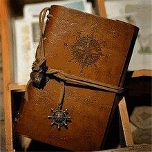 Горячая Распродажа, модный персональный блокнот, дневник, записная книжка, спиральное кольцо, связующий дневник, ретро Книга, ретро записна...